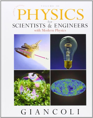 9780132274005: Physics for Scientists and Engineers with Modern Physics: Chapters 36-44 v. 3