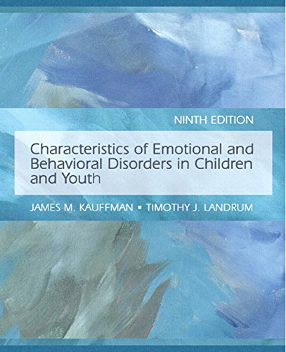 9780132275149: Characteristics of Emotional and Behavioral Disorders of Children and Youth (9th Edition)