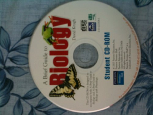 9780132275781: A Brief Guide to Biology - Student CD-ROM