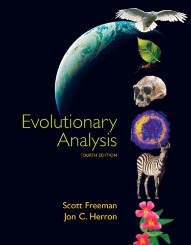 9780132275842: Evolutionary Analysis
