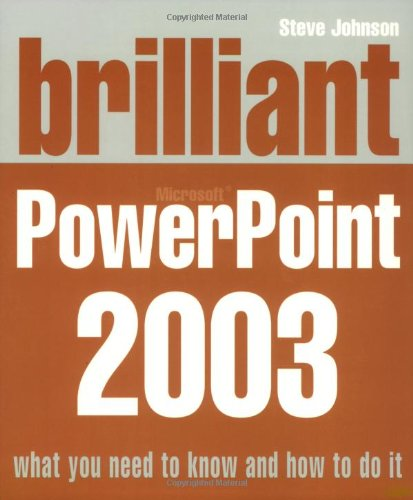 9780132277136: Brilliant Microsoft PowerPoint 2003