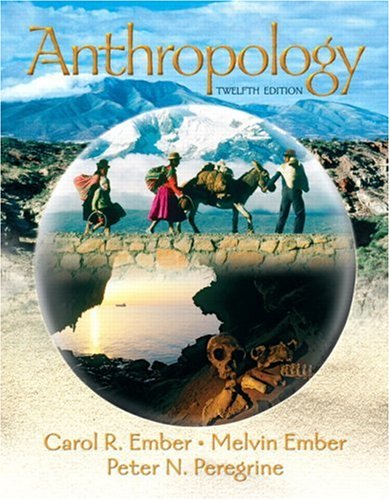 9780132277532: Anthropology (12th Edition)