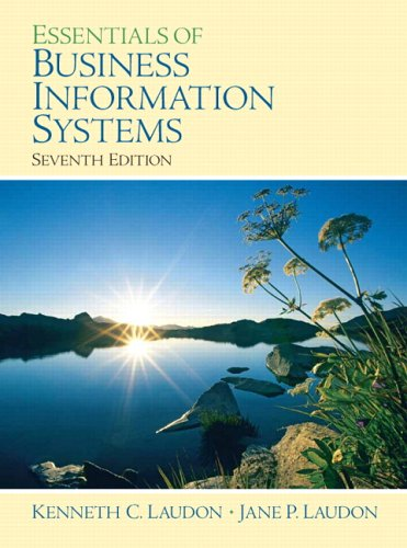 9780132277815: Essentials of Business Information Systems (7th Edition)