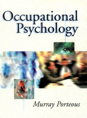 9780132278102: Occupational Psychology: An Introduction