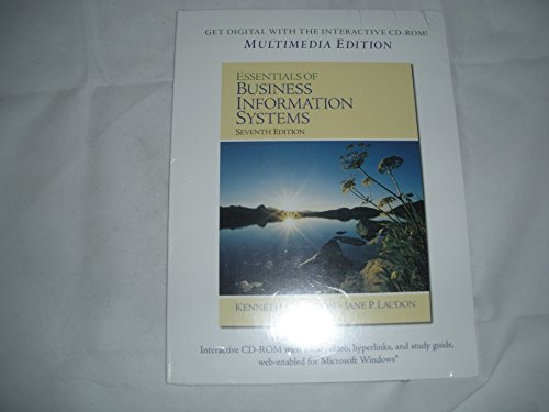 Essentials of Business Information Systems: Jane P. Laudon