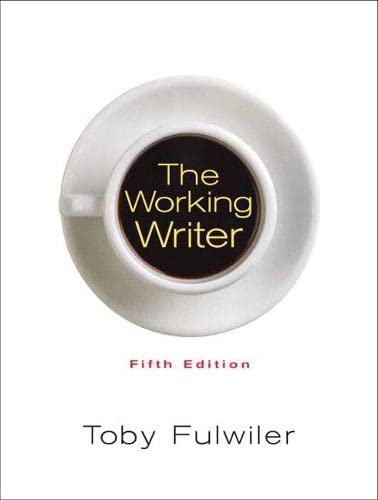 9780132278966: The Working Writer (5th Edition)