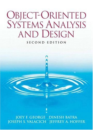 9780132279000: Object-Oriented Systems Analysis and Design (2nd Edition)