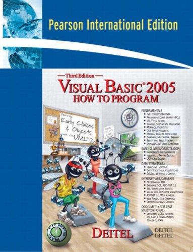 9780132279581: Visual Basic 2005 How to Program: International Edition