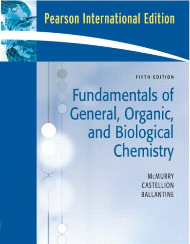 Fundamentals of General Organic & Biol: John Mcmurry