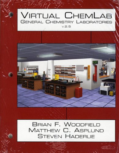 9780132280099: Virtual ChemLab: General Chemistry, Student Lab Manual / Workbook and CD Combo Package, v2.5 (3rd Edition)