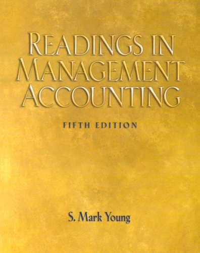 9780132280228: Readings in Management  & Accounting (5th Edition)