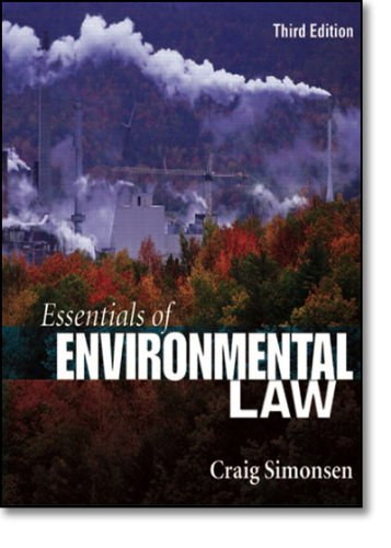 9780132280457: Essentials of Environmental Law (3rd Edition)