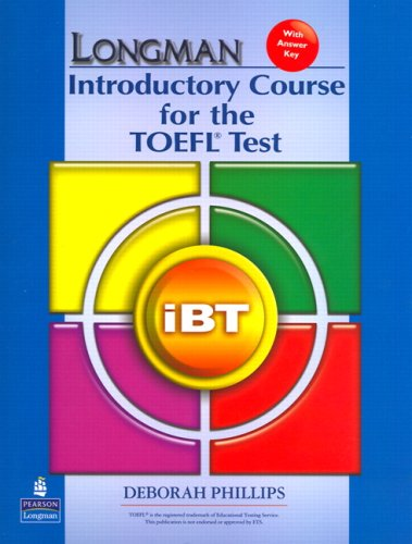9780132280891: Longman Introductory Course for the TOEFL Test: iBT (without CD-ROM, with Answer Key) (Audio CDs required)