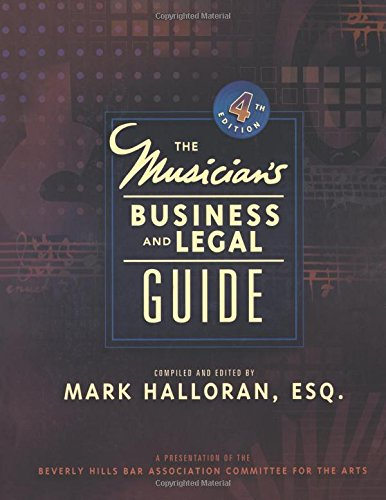 9780132281270: Musician's Business & Legal Guide (4th Edition)