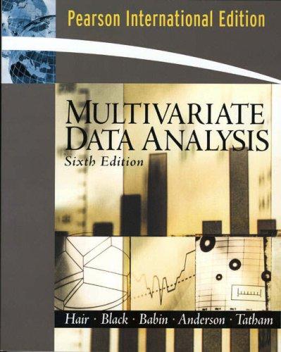 9780132281393: Multivariate Data Analysis