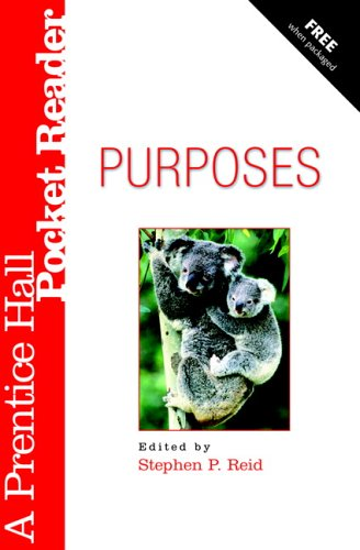 9780132281614: Purposes Pocket Reader (A Prentice Hall Pocket Reader)