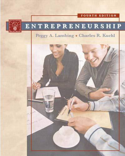9780132281744: Entrepreneurship