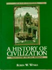 9780132283397: A History of Civilization: Prehistory to the Present (Combined) (9th Edition)