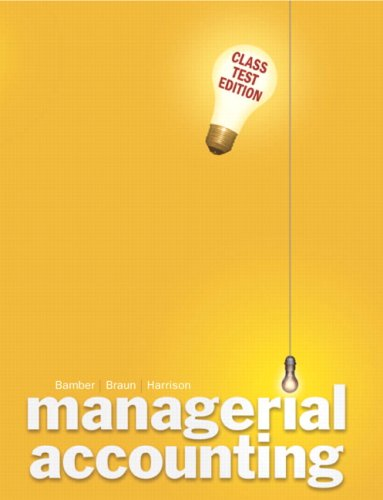 9780132284639: Managerial Accounting