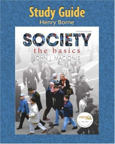 9780132284936: Study Guide for Society: The Basics
