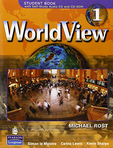9780132285759: WorldView 1 with Self-Study Audio CD and CD-ROM