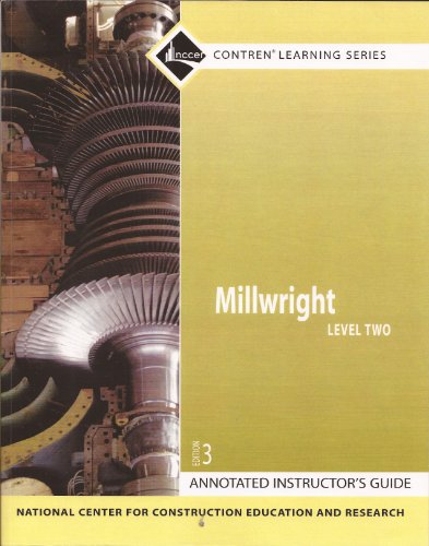 9780132285896: Millwright: Annotated Instructor's Guide Level 2