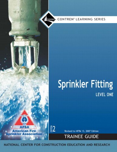 9780132286114: Sprinkler Fitting Level 1 Trainee Guide