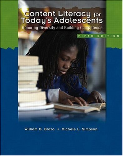 Content Literacy for Today's Adolescents: Honoring Diversity and Building Competence