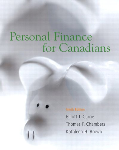 9780132286756: Personal Finance for Canadians (9th Edition)