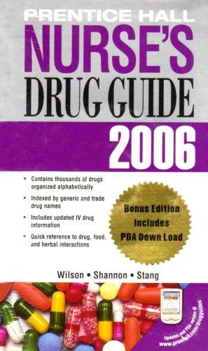 9780132287838: Prentice Hall Nurse's Drug Guide, 2006 with PDA (Non-Retail Version)
