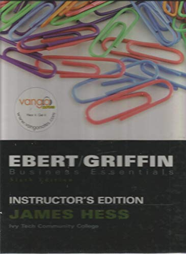 9780132287876: Business Essentials 6th Edition Instructor's Edition