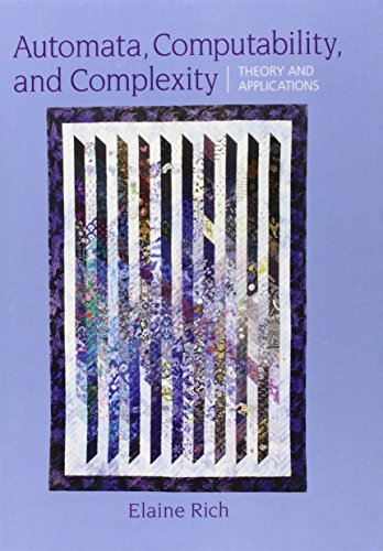 9780132288064: Automata, Computability and Complexity: Theory and Applications