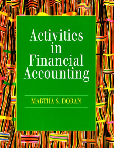 9780132289665: Activities in Financial Accounting