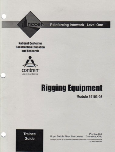 9780132289894: 39103-05 Rigging Equipment TG