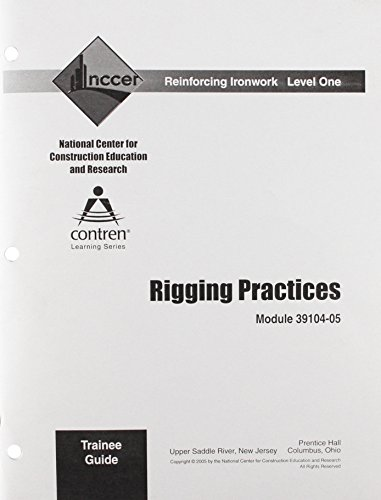 Rigging Practices (9780132289917) by NCCER