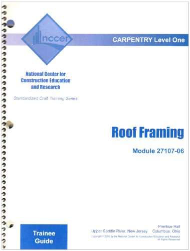 9780132290548: 27107-06 Roof Framing TG