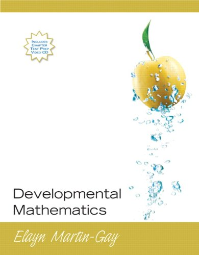 9780132290906: Developmental Mathematics (paperback edition)