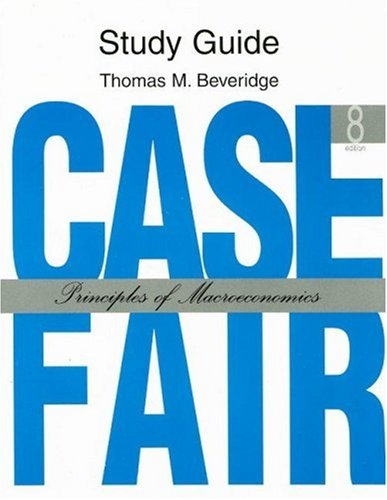 9780132291415: Case Fair - Principles of Macroeconomics - Study Guide