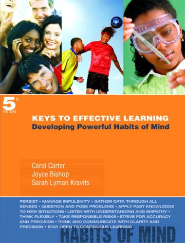 9780132295406: Keys to Effective Learning: Developing Powerful Habits of Mind (5th Edition)