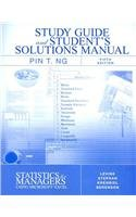 9780132295536: Student Study Guide & Solutions Manual