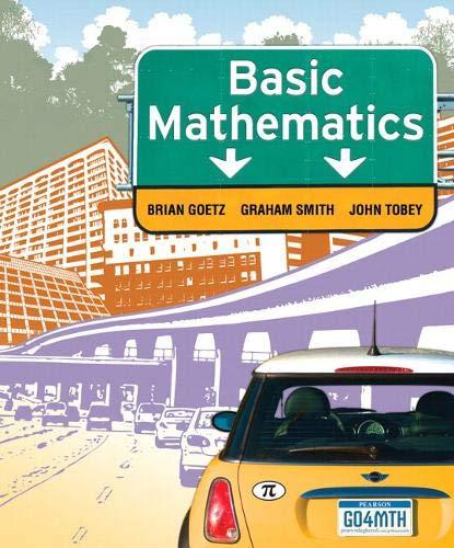 9780132296113: Basic Mathematics