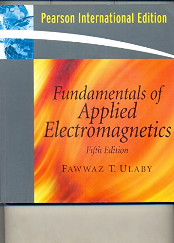 9780132296304: Fundamentals of Applied Electromagnetics 2007