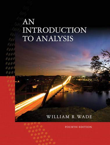 9780132296380: An Introduction to Analysis (4th Edition)