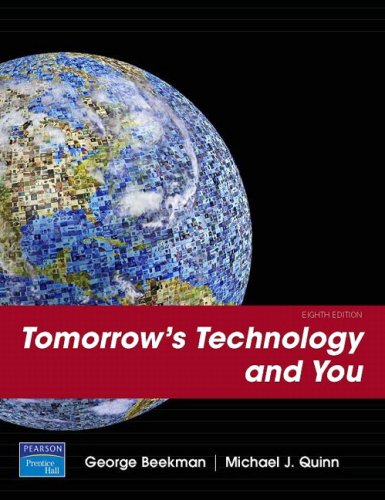 9780132297219: Tomorrow's Technology and You, Introductory (8th Edition)