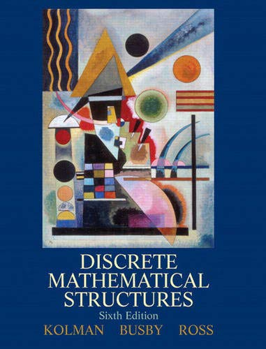 9780132297516: Discrete Mathematical Structures (6th Edition)