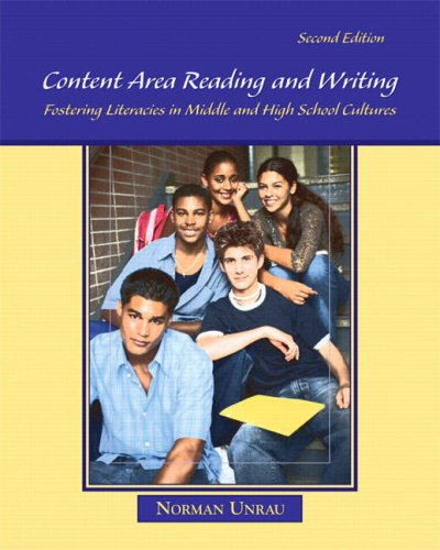 9780132298544: Content Area Reading and Writing: Fostering Literacies in Middle and High School Cultures (2nd Edition)