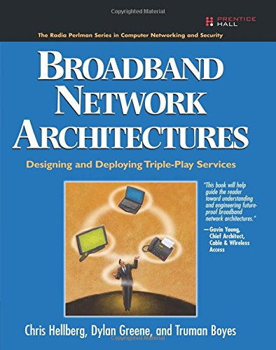9780132300575: Broadband Network Architectures: Designing and Deploying Triple-Play Services: Designing and Deploying Triple-Play Services