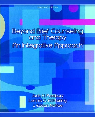 9780132300926: Beyond Brief Counseling and Therapy: An Integrative Approach (2nd Edition)