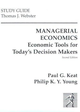 9780132301039: Managerial Economics (Study Guide)