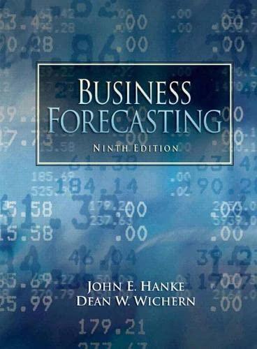 9780132301206: Business Forecasting